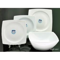 Serwis obiadowy Trendy White porcelana Luminarc