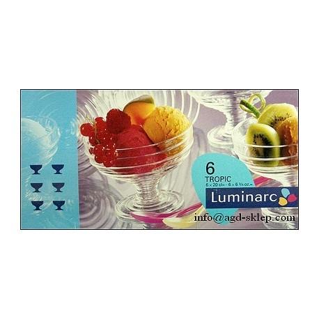 pucharki do lodów TROPIC kpl. 6szt. LUMINARC