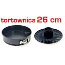 Forma do babki TORTOWNICA 26cm II dna 3cz.