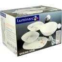 Serwis obiadowy SEQUINS WHITE Luminarc 19cz.