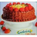 Patera obrotowa do tortów, ciast, tortownica