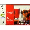6-szklanek ART CRAFT 40ml