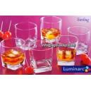 6-szklanek LUMINARC STERLING niskie 0,3L