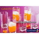 6-szklanek LUMINARC STERLING wysokie 0,33L