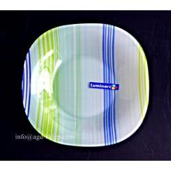 Talerz głęboki Carine Stripes Blue Luminarc