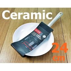 Patelnia ceramiczna GoCook Profi 24cm indukcja