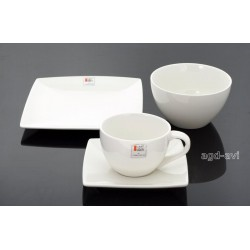 Serwis kawowy L'art De La Table 4cz kwadrat