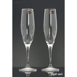 2-kieliszki do szampana Eva Bohemia Crystal