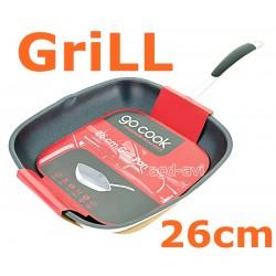 Patelnia grillowa 26cm Go Cook Grill indukcja