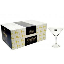 Kieliszki 280ml do Martini 6szt czeska marka Bohemia Crystal
