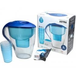 Dzbanek filtr do wody 3L niebieski wkład Mg +4 kubki