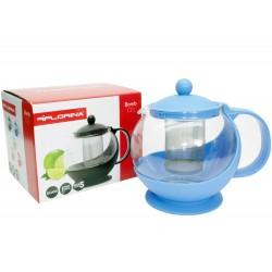 Dzbanek zaparzacz do kawy herbaty ziół 1,2l orange