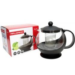Dzbanek zaparzacz do kawy herbaty ziół 1,2l blue