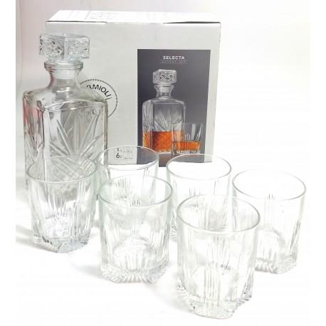 Zestaw do Whisky Karafka szklanki Bormioli Rocco