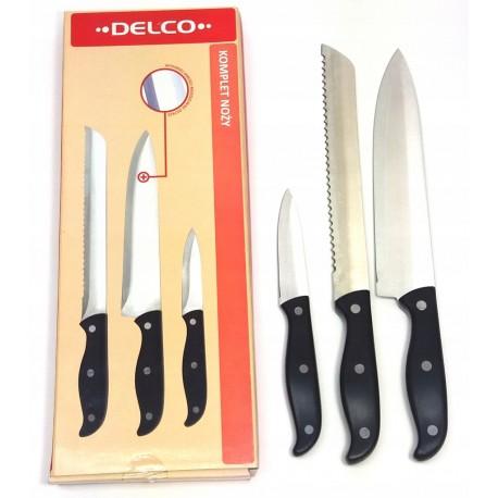 Zestaw noży noże z ostrzałką Ambition Pure Line