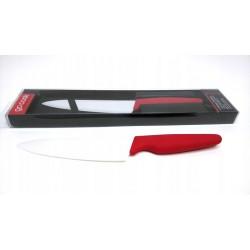 Nóż ceramiczny Santoku 12cm z osłonką
