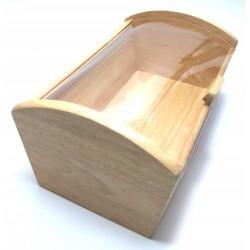 Chlebak pojemnik do chleba drewno kauczukowe