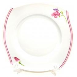 Talerz deserowy Rozalia porcelana My Home