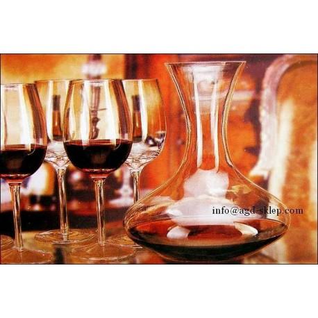 Karafka dekanter + 4-kieliszki do wina LUMINARC