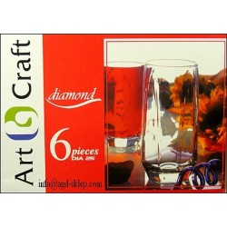 6-szklanek ART CRAFT 40ml