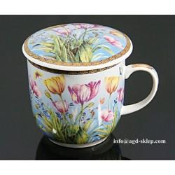 Kubek do ziół, herbaty z sitkiem do zaparzania - HS - 241