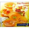 Serwis obiadowy POP FLOWERS ORANGE Luminarc 19cz.