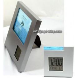 Ramka na zdjęcia 13x9 cm zegar termometr alarm