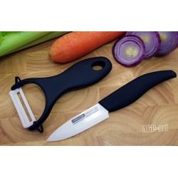 Noże ceramiczne nóż + obierak ceramiczny