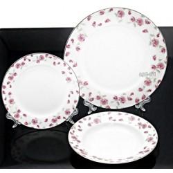 18cz Serwis obiadowy porcelana Bone China