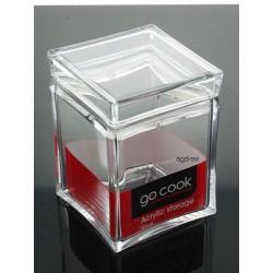 Pojemnik akrylowy kwadrat Go Cook