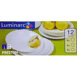 Serwis obiadowy Preston Luminarc 12cz.